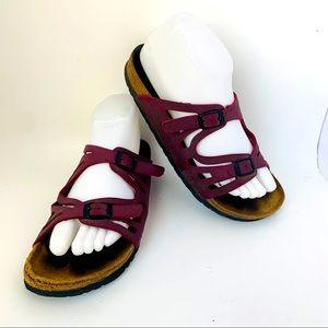 Birkenstock Granada Sandals Sz 38